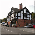 SJ6374 : The Old Red Lion (Northwich Auctions) by David Dixon