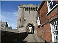 TQ4110 : The Barbican Gate, Lewes Castle by Ian Yarham