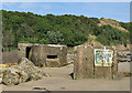 TA0685 : WW2 pillboxes, Cayton Bay by Pauline Eccles
