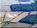 TL6734 : Howe Farm from the air by Thomas Nugent