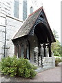 NO2694 : Crathie Parish Church, Porch by Alexander P Kapp