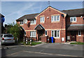 SJ8287 : New housing for old in Benchill by John Rostron