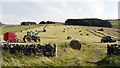 NY9422 : Grass harvest at West Pasture by Trevor Littlewood