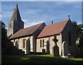 SK7160 : Church of St Radegund, Maplebeck by Andrew Hill