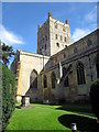 SO8932 : Tewkesbury Abbey by Roy Hughes