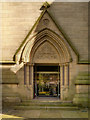 SD7209 : St Peter's Church, West Doorway by David Dixon