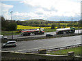 SP2086 : Tankers on M6 east of junction 4 by Robin Stott