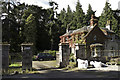 NH5353 : Conon Gate House by Peter Moore