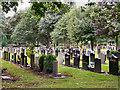 SJ7497 : Peel Green Cemetery by David Dixon