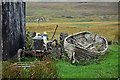 NG3860 : Old tractor and boat at Earlish : Week 37