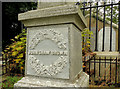J1353 : The Brown family grave, Donaghcloney (2) by Albert Bridge