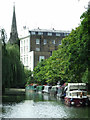 TQ2883 : Regent's Canal by Thomas Nugent