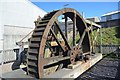 SW3734 : Geevor Tin Mine - Wheel stamps by Ashley Dace