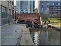 SJ8498 : Dale Street Lock and Bridge, Rochdale Canal by David Dixon