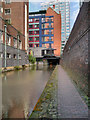 SJ8498 : Rochdale Canal, Piccadilly by David Dixon