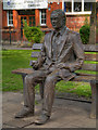 SJ8497 : Alan Turing, Sackville Park by David Dixon