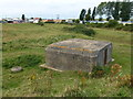 TF6636 : Pillbox near South beach Road, Heacham by Richard Humphrey