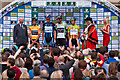 TQ2549 : 2012 Tour of Britain stage 8 start - Priory Park by Ian Capper