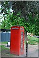 TQ3470 : Telephone kiosk, Crystal Palace Park by N Chadwick