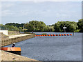 SK7653 : Averham Weir  by Alan Murray-Rust