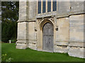 SK7851 : Hawton Church, west door  by Alan Murray-Rust