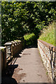 TQ2550 : Footpath over Reigate Tunnel  by Ian Capper