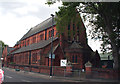 TQ2078 : Acton Green:  St. Alban's Church by Dr Neil Clifton