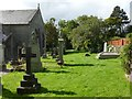 NS2684 : Rhu Parish Churchyard by Lairich Rig