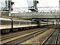SJ7154 : Railway Station, Crewe by Dave Hitchborne