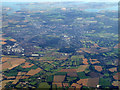 TL9930 : Colchester from the air by Thomas Nugent