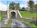 H6416 : Railway bridge, Lisnalong by Kenneth  Allen