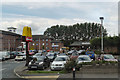 SO9265 : McDonalds Car Park, Wychbold by David Dixon