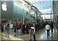 SP0786 : Queueing for the iPhone 5, West Mall, Bullring by Robin Stott
