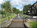 SP3097 : Coventry Canal: Atherstone Top Lock Number 1 by Nigel Cox