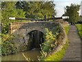 SJ9688 : Peak Forest Canal, Bridge at Lock#14 by David Dixon