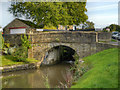 SJ9688 : Peak Forest Canal, Bridge at Lock#16 by David Dixon