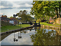 SJ9688 : Peak Forest Canal, Lock#16, Marple by David Dixon