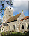 TG1143 : All Saints, Weybourne by Pauline Eccles
