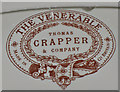 TG1141 : Thomas Crapper logo by Pauline Eccles