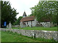 SU3146 : St Michael &amp; All Angels, Weyhill: churchyard (C) by Basher Eyre