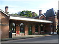 TQ5337 : The original Groombridge station by Ian Yarham