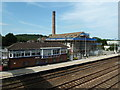 SX8060 : Totnes - Station and former creamery by Chris Allen