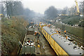 TQ2674 : Clearing up after the December 1988 crash west of Clapham Junction by Ben Brooksbank