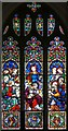 TL3149 : All Saints, Croydon - Stained glass window by John Salmon