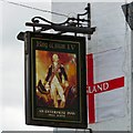 SJ9696 : Sign for King Bill by Gerald England