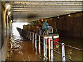 SJ8397 : Rochdale Canal, Gaythorn Tunnel by David Dixon