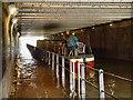 SJ8397 : Rochdale Canal, Gaythorn Tunnel by David Dixon