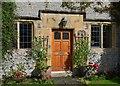 SK2272 : Front door of Dower House, Hassop : Week 39