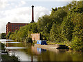 SJ8699 : Rochdale Canal, Victoria Mill by David Dixon