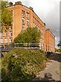 SJ8599 : Victoria Mill, Miles Platting by David Dixon